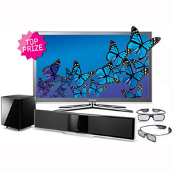 Win a complete Samsung 3D TV package!