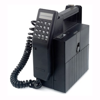 Mobile phone from the 1980s