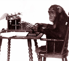 monkey typewriter