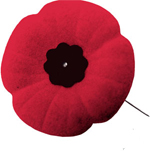 Rememberence day poppy