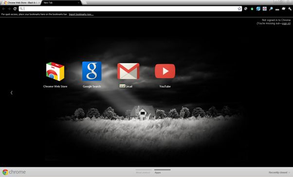 best google chrome themes 2012 cartridge monkey