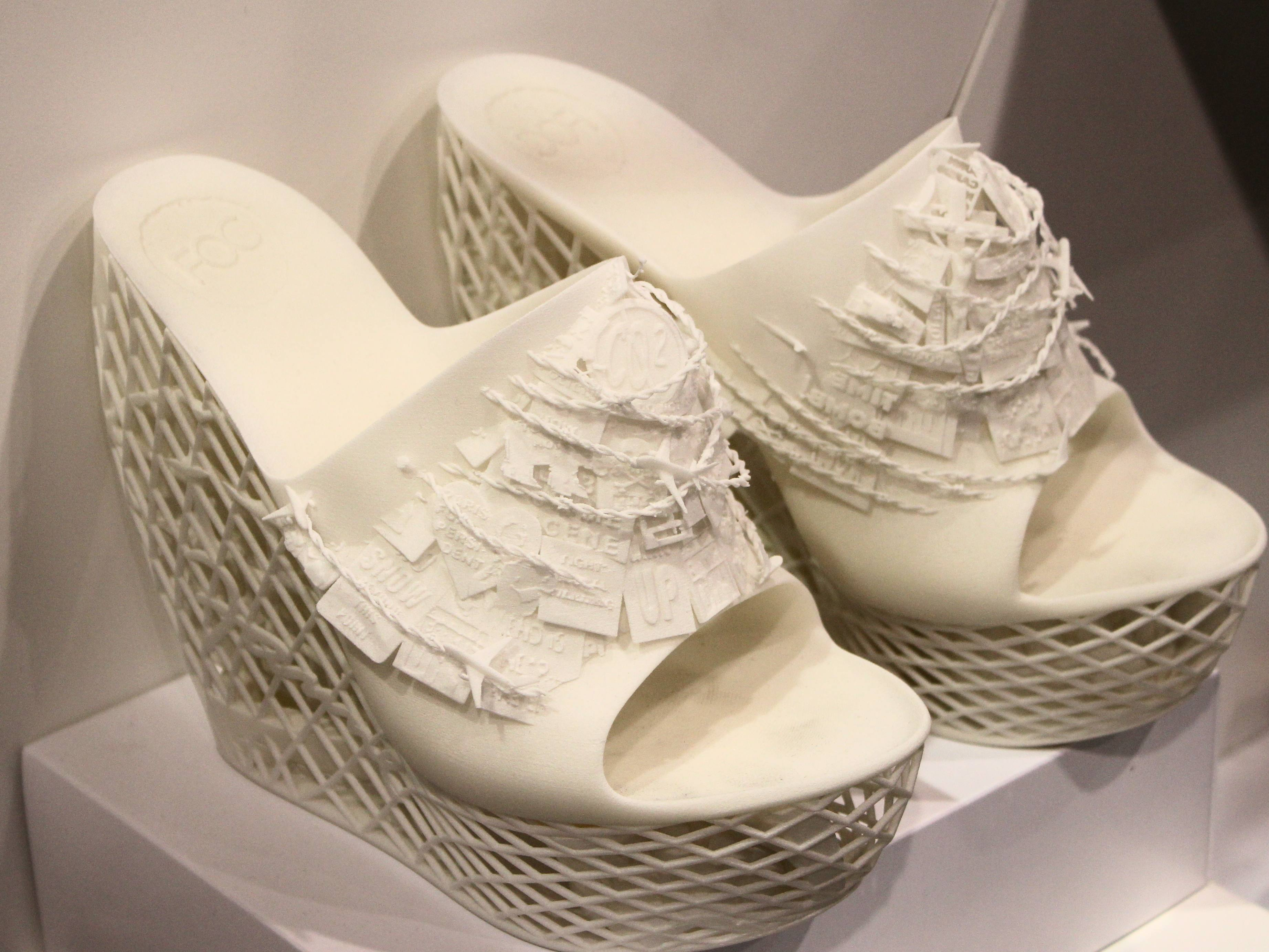 Print your own shoes!