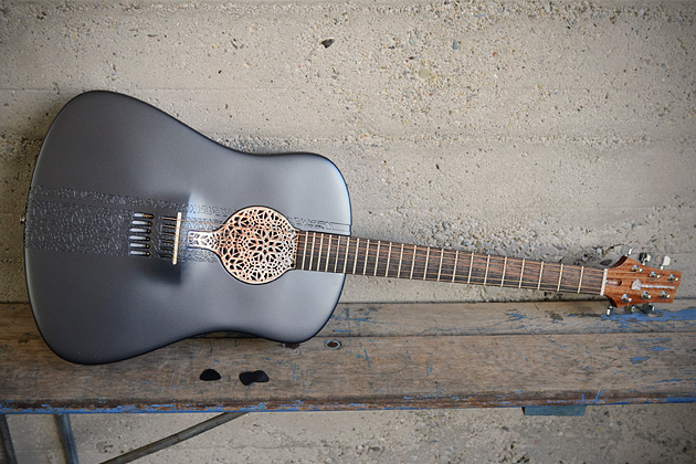 How about a 3D Printed Acoustic Guitar?
